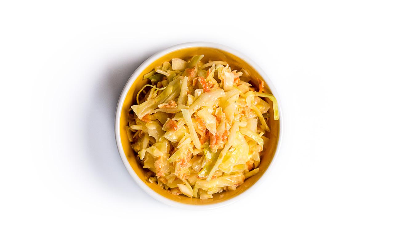 Coleslwa ist ein amerikanischer Krautsalat aus den USA